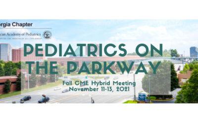 Georgia AAP Fall CME Meeting – Pediatrics on the Parkway