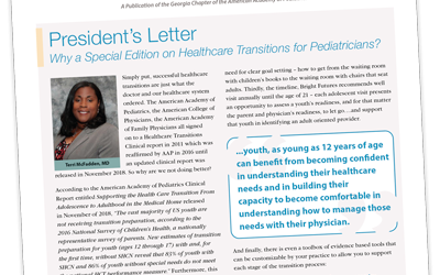 New! Special Edition on Youth Health Care Transitions