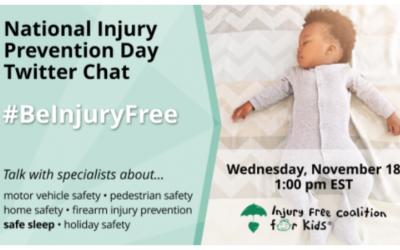 Inaugural Injury Prevention Day November 18, 2020