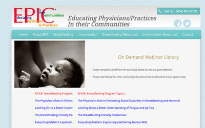 EPIC® Breastfeeding Webinar On Demand Library Now Available!